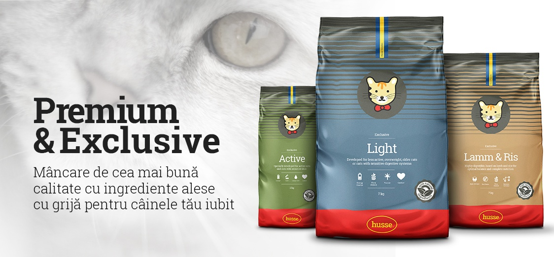 Husse Cat food - Premium & Exclusive - High quality food with the best ingredients for your beloved pets